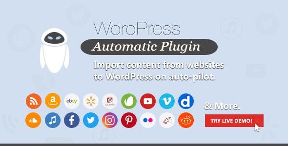 WordPress Automatic Plugin free download wpzones