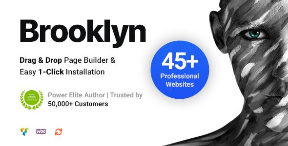 Brooklyn Creative Multi-Purpose Responsive WordPress Theme