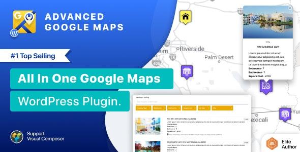 Advanced Google Maps Plugin for Wordpress free download wpzones