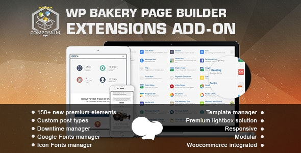 Composium WP Bakery Page Builder Extensions Addon (formerly for Visual Composer free download wpzones