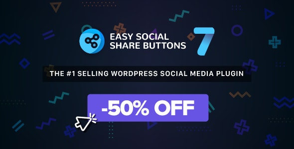 Easy Social Share Buttons for WordPress [Free Download] wpzones