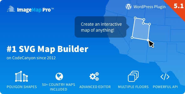 Image Map Pro for WordPress - SVG Map Builder free download wpzones