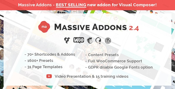 Massive Addons for WPBakery Page Builder free download wpzones