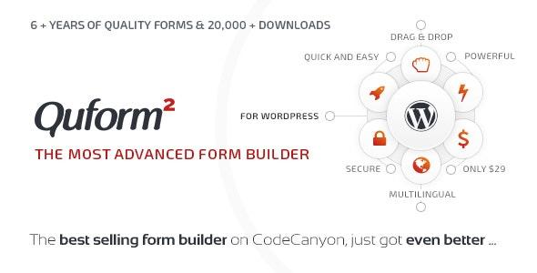 Quform - WordPress Form Builder free download wpzones