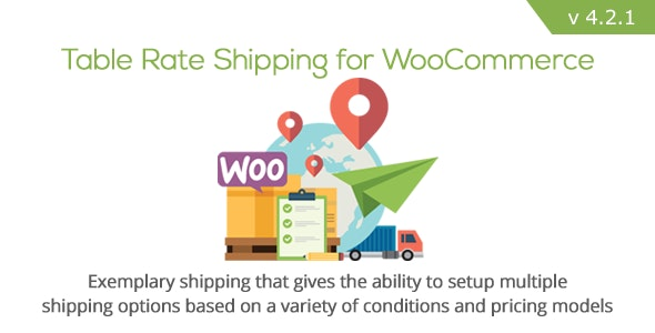 Table Rate Shipping for WooCommerce free download wpzones