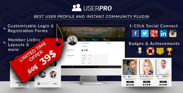 UserPro - Community and User Profile WordPress Plugin free download wpzones