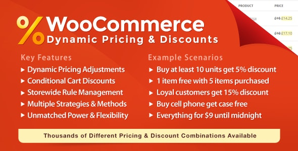 WooCommerce Dynamic Pricing & Discounts free download wpzones
