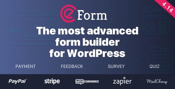 eForm - WordPress Form Builder free download wpzones
