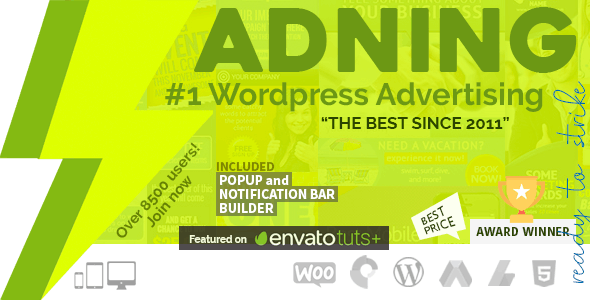 Adning Advertising - Professional, All In One Ad Manager for Wordpress free download wpzones