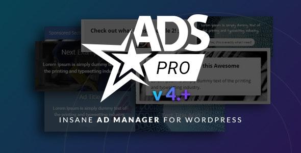 Ads Pro Plugin - Multi-Purpose WordPress Advertising Manager free download wpzones