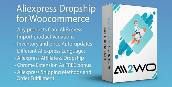 AliExpress Dropshipping Business plugin for WooCommerce free download wpzones