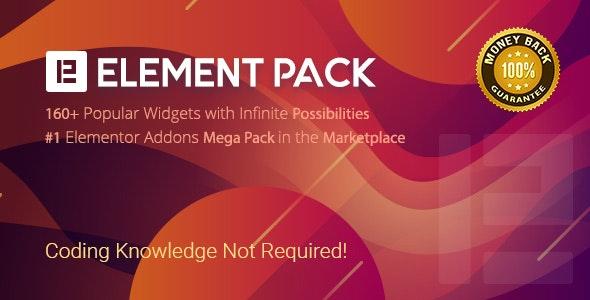 Element Pack - Addon for Elementor Page Builder WordPress Plugin free download wprdpress