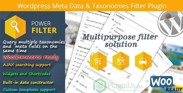 MDTF - Wordpress Meta Data & Taxonomies Filter wpzones
