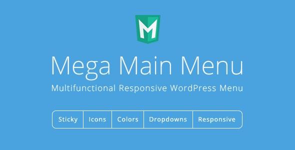 Mega Main Menu - WordPress Menu Plugin free download wpzones