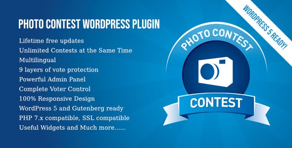 Photo Contest WordPress Plugin free download wpzones wordpress theme and plugin codecanyon themeforest