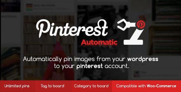 Pinterest Automatic Pin Wordpress Plugin free download wpzones