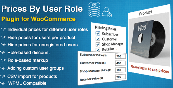 Prices By User Role for WooCommerce plugin free download wpzones