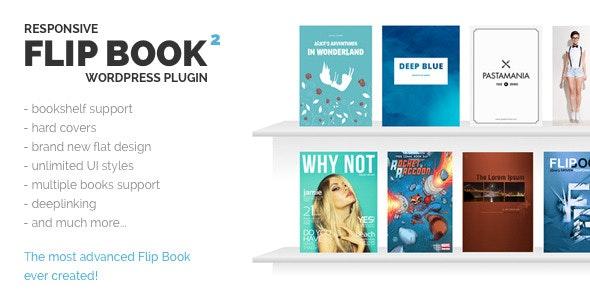 Responsive FlipBook wordpress Plugin free download wpzones