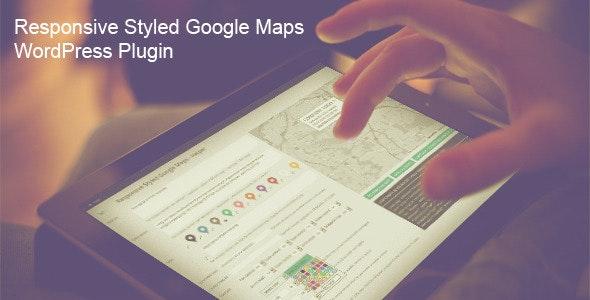Responsive Styled Google Maps WordPress Plugin free download