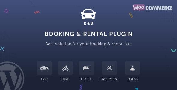 RnB - WooCommerce Booking & Rental Plugin free download wpzones
