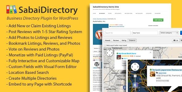 Sabai Directory - Business directory plugin for WordPress free download wpzones