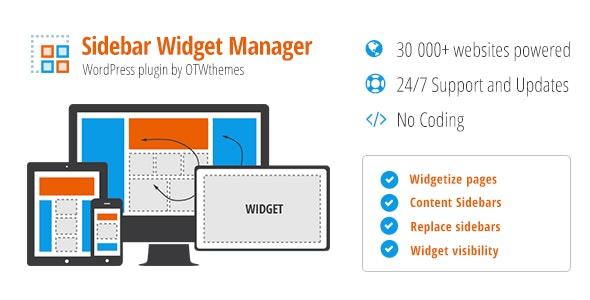 Sidebar & Widget Manager for WordPress plugin free download wpzones