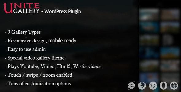Unite Gallery - WordPress Gallery Plugin free download wpzones