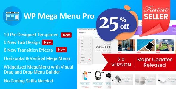 WP Mega Menu Pro - Responsive Mega Menu Plugin for WordPress free download