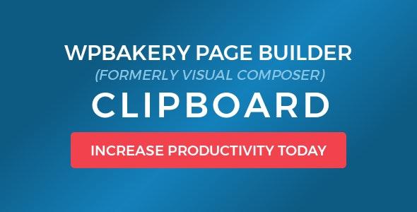 WPBakery Page Builder Clipboard wordpress plugin free download wpzones