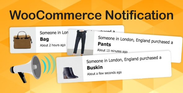 WooCommerce Notification Boost Your Sales Live Feed Sales Recent Sales Popup Upsells