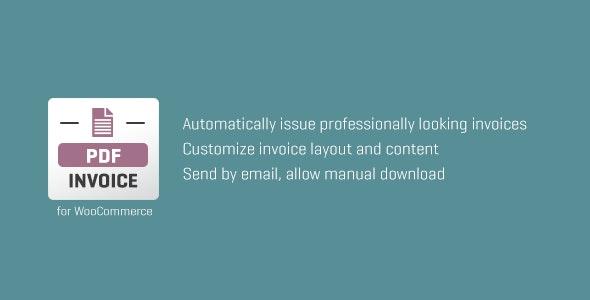 WooCommerce PDF Invoice wordpress plugin free download wpzones