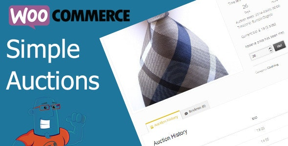 WooCommerce Simple Auctions - WordPress Auctions plugin free download wpzones