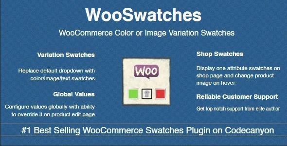 WooSwatches - WooCommerce Color or Image Variation Swatches wordpress plugin free download wpzones