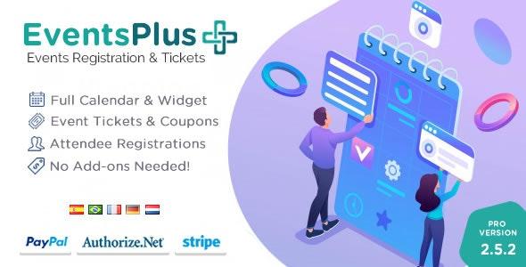WordPress Events Calendar Registration & Tickets plugin free download wpzones