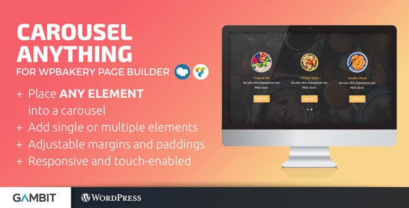 Carousel Anything for WPBakery Page Builder wordpress plugin free download