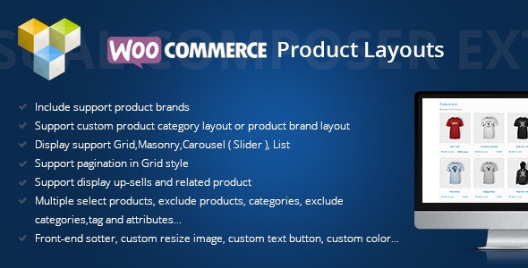 DHWCLayout - Woocommerce Products Layouts plugin free download