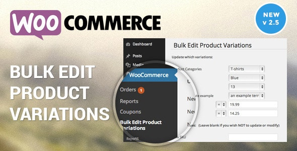 Woocommerce Bulk Edit Variable Products & Prices plugin free download